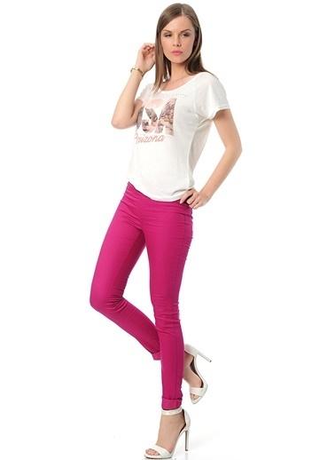 Vero Moda Pantolon Fuşya